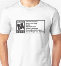 Mature rating  Unisex T-Shirt