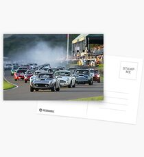 Racing at the Goodwood Revival  Postcards