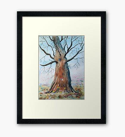 The Faerie Tree Framed Print