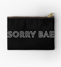 Sorry Bae -BTS Cypher Pt. 4 Lyrics Zipper Pouch