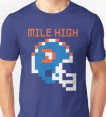 Broncos - Mile High 8 Bit T-Shirt