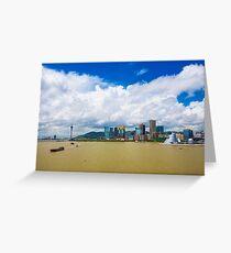 Macau cityscape Greeting Card