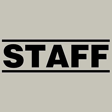 Staff (black) by shviala