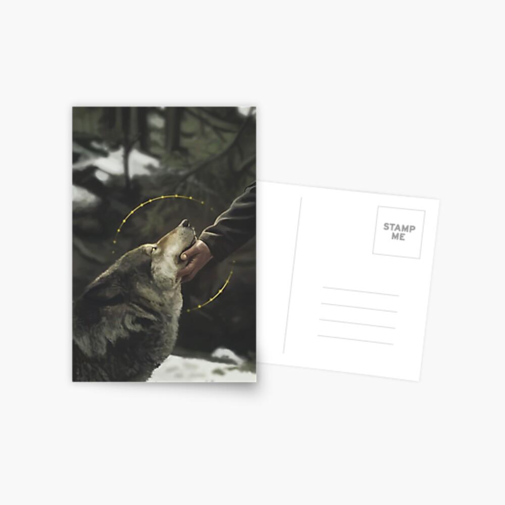 The bond Postcard