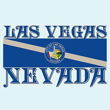 Vintage Las Vegas Nevada by shviala