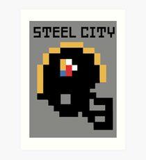 Steelers - 8 bit Art Print