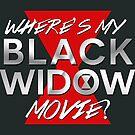 Black Widow Movie by mysticwhimsies