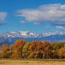 Rocky Mountain Front Range Colorful View by Bo Insogna