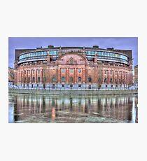 The pink landmark Photographic Print