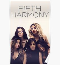 Fifth Harmony Billboard shoot Poster