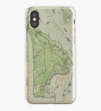 Vintage Map of Marthas Vineyard (1913) iPhone Case/Skin