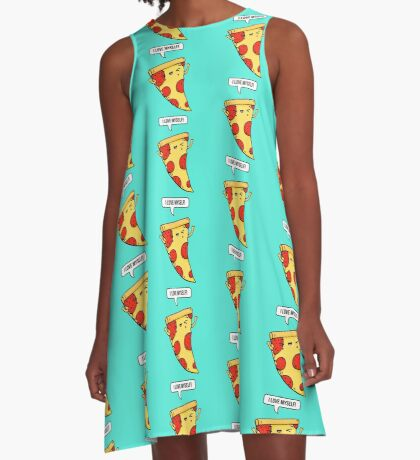 Pizza Love A-Line Dress
