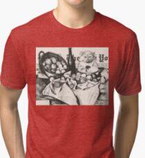 The basket of apples  Tri-blend T-Shirt
