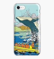 Jumping Whale iPhone Case/Skin