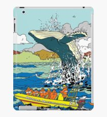 Jumping Whale iPad Case/Skin