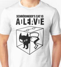 Schrodinger Cat Unisex T-Shirt
