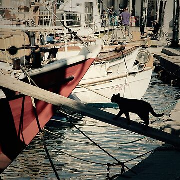Sailing Cat Greece by louisefahy