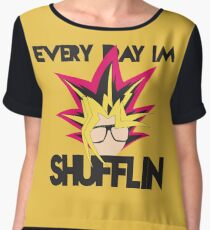 Every Day I'm Shufflin' Women's Chiffon Top