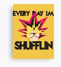 Every Day I'm Shufflin' Canvas Print