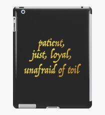 Just and Loyal iPad Case/Skin