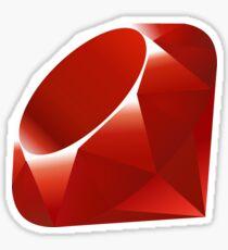 Ruby - Programming Language Logo Sticker
