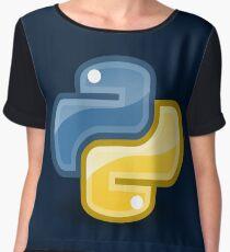 Python logo Women's Chiffon Top