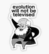 Gil-Scott Darwin (Grey) Sticker