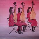 The Chinese Musicians by FrancesArt
