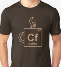 Coffee Element Slim Fit T-Shirt