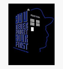 You Never Forget Your First - Doctor Who 7 Sylvester McCoy Photographic Print
