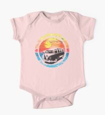 VW / Volkswagen Kombi Sunset Design One Piece - Short Sleeve