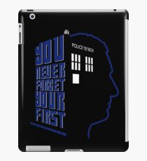You Never Forget Your First - Doctor Who 9 Christopher Eccleston iPad Case/Skin