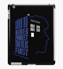 You Never Forget Your First - Doctor Who 8 Paul McGann iPad Case/Skin