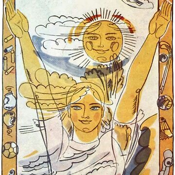 """""""Sun, air and water -  our best friends!"""" Soviet poster  by yussername"""