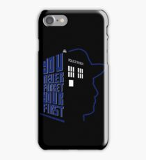 You Never Forget Your First - Doctor Who 7 Sylvester McCoy iPhone Case/Skin