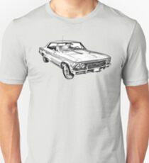 1966 Chevy Chevelle SS 396 Illustration Unisex T-Shirt