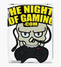 The Nights of Gaming skully iPad Case/Skin