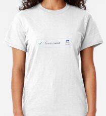 I'm not a robot - captcha shirt Classic T-Shirt