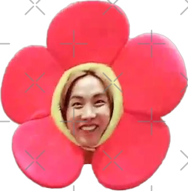 Quot Jhope Chuseok Flower Quot Stickers By Briana Hernandez