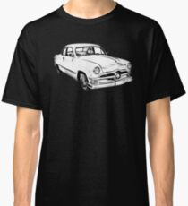 1950  Ford Custom Antique Car Illustration Classic T-Shirt