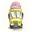 Donut Truck by yeomanscarart