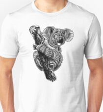 Ornate Koala Unisex T-Shirt