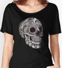 Ornate Skull Women's Relaxed Fit T-Shirt