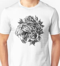 Ornate Leopard Unisex T-Shirt