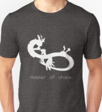 Master of Chaos - White Unisex T-Shirt