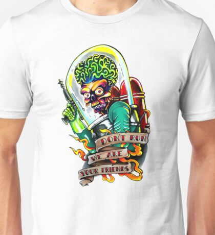 mars attacks painting mixed media gifts merchandise redbubble. Black Bedroom Furniture Sets. Home Design Ideas