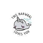 Narwhal Love by sisaro