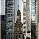 Old and New Side by Side in Sydney CBD (NSW/Australia) by Wolf Sverak