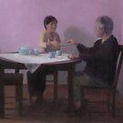 Serving Tea by dbclemons