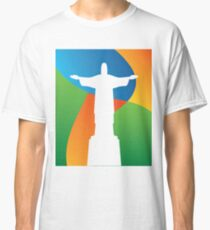 Brazil colors and Christo  Classic T-Shirt